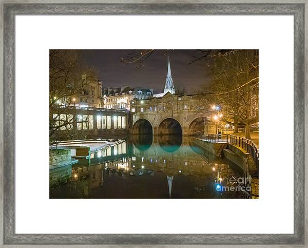 Pulteney Bridge, Bath Framed Print