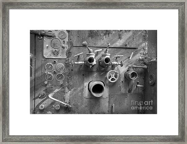 Pumper Panel Framed Print by Arni Katz