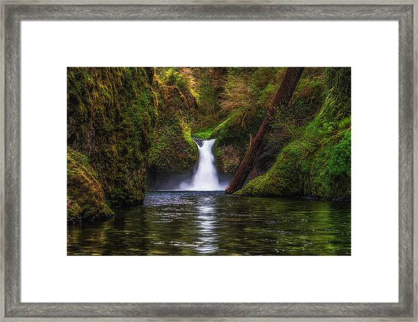 Punchbowl Falls Framed Print