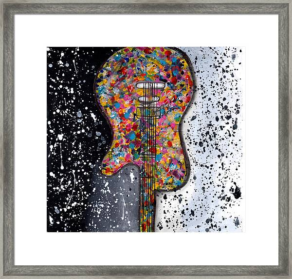 Punk Concept Painting 2 Framed Print