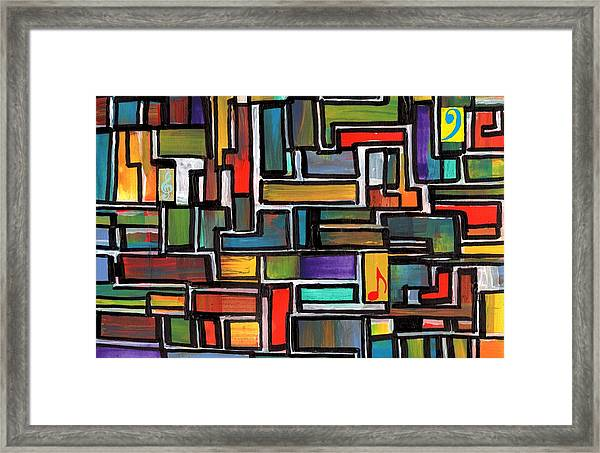 Punk Concept Painting 3 Framed Print