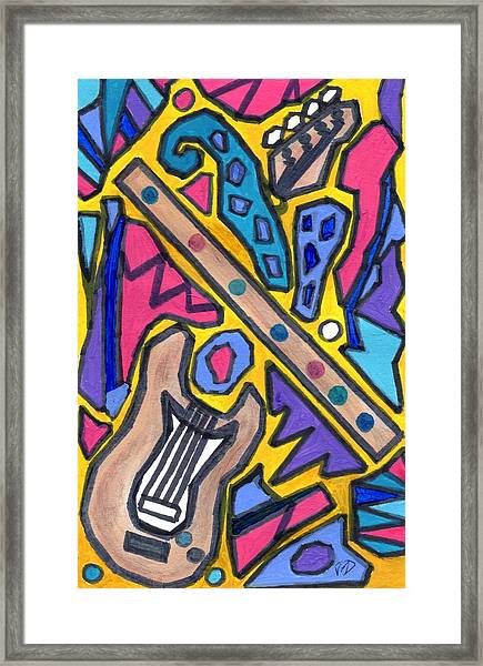 Punk Concept Painting 4 Framed Print