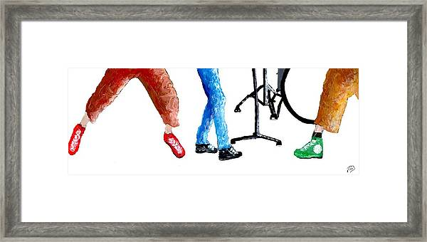 Punk Concept Painting 5 Framed Print