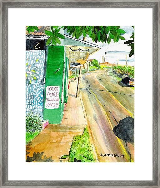 Pure Hawaiian Framed Print