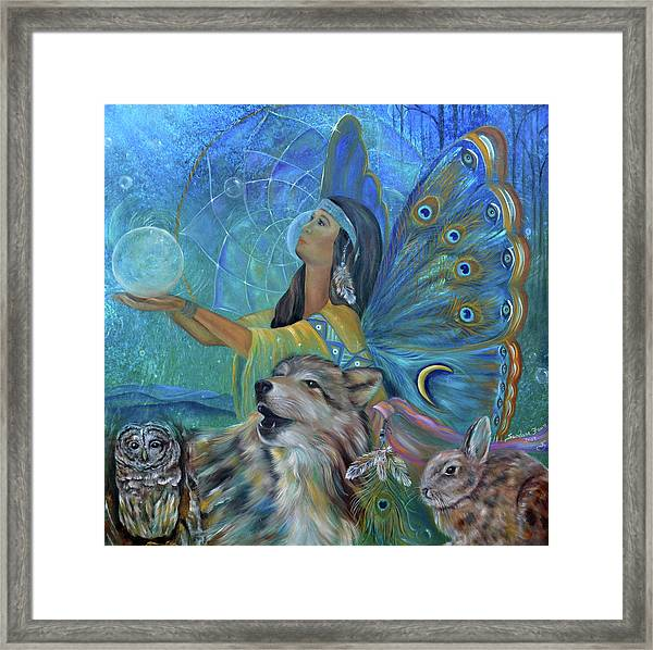 Purification Framed Print by Sundara Fawn