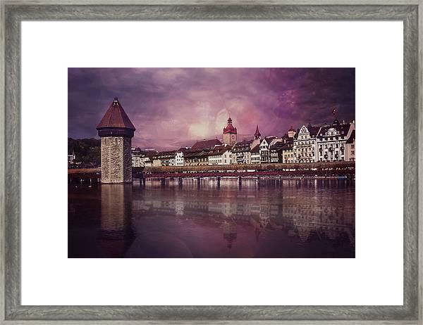 Purple Haze Framed Print