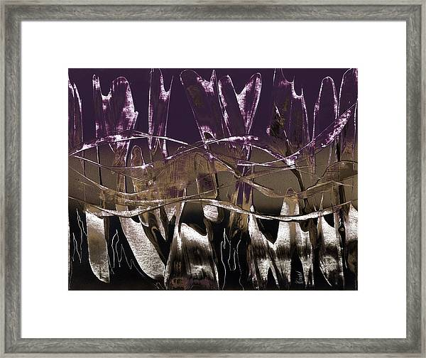 Purple Royale Framed Print