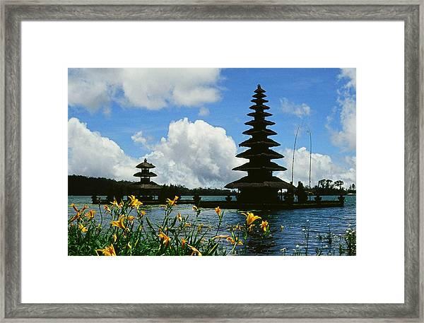 Puru Ulun Danau  Framed Print