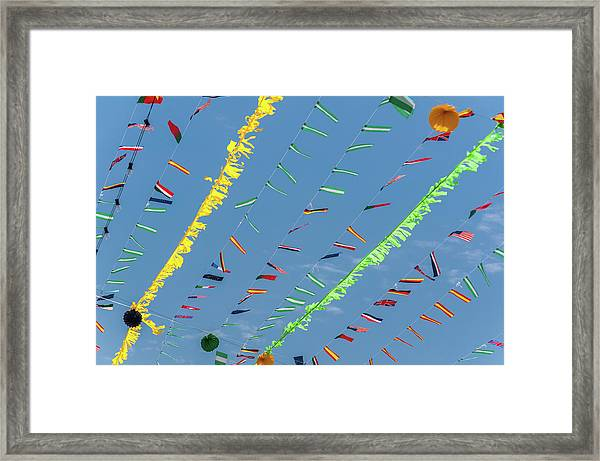 Put The Flags Out Framed Print