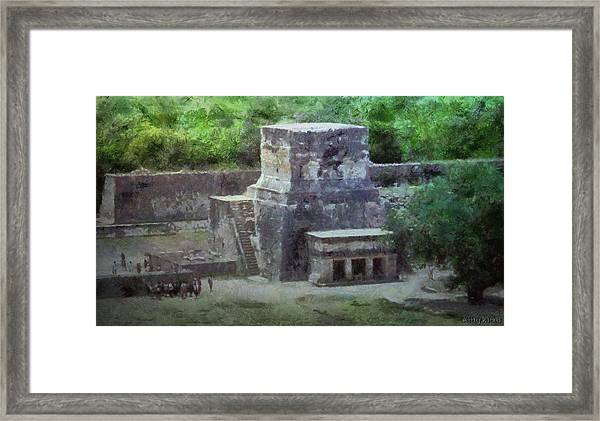 Pyramid View Framed Print