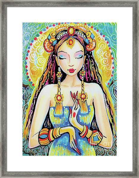 Quan Yin Framed Print