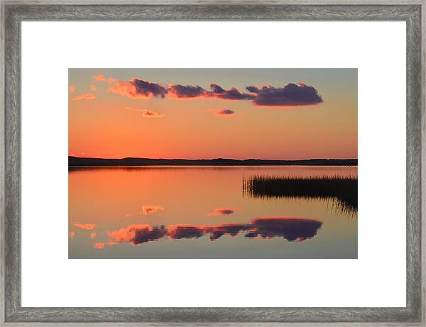 Quansoo Relections Framed Print