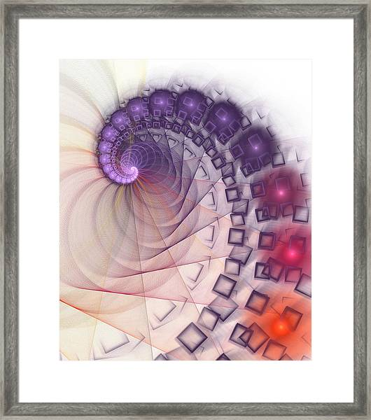 Quantum Gravity Framed Print