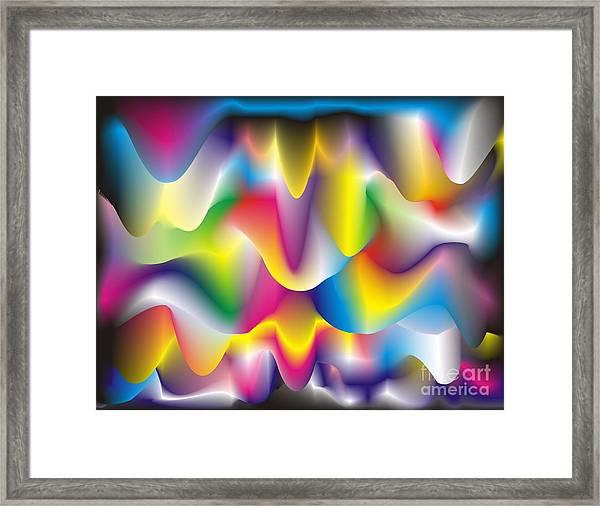 Quantum Landscape 1 Framed Print