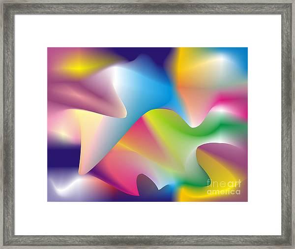 Quantum Landscape 2 Framed Print