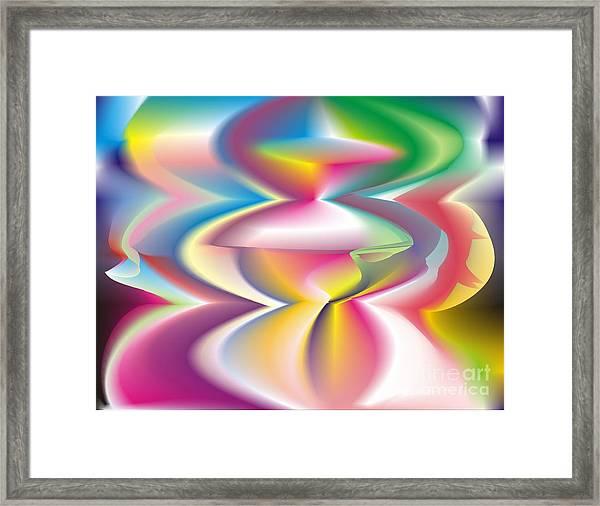 Quantum Landscape 3 Framed Print