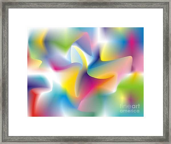 Quantum Landscape 4 Framed Print