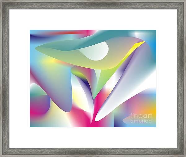 Quantum Landscape 5 Framed Print
