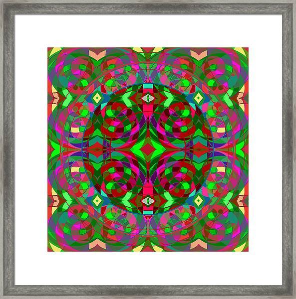 Quantum Portal C Open Framed Print