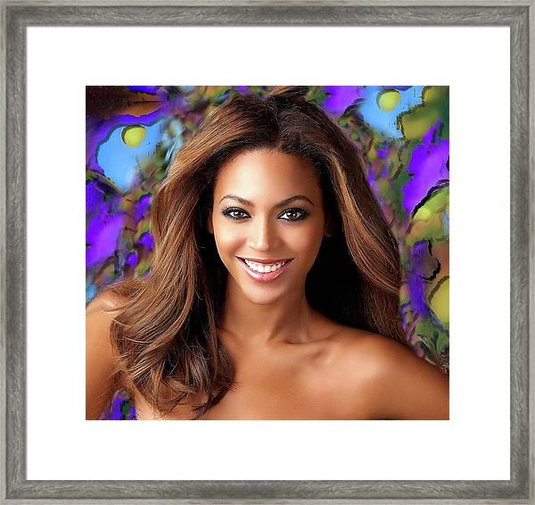 Queen Beyonce Framed Print