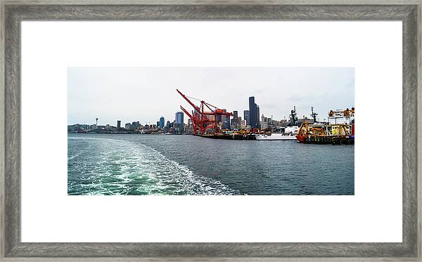 Queen City Framed Print
