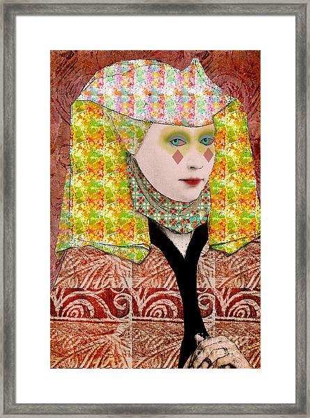 Queen Of Diamonds Custom Order Framed Print