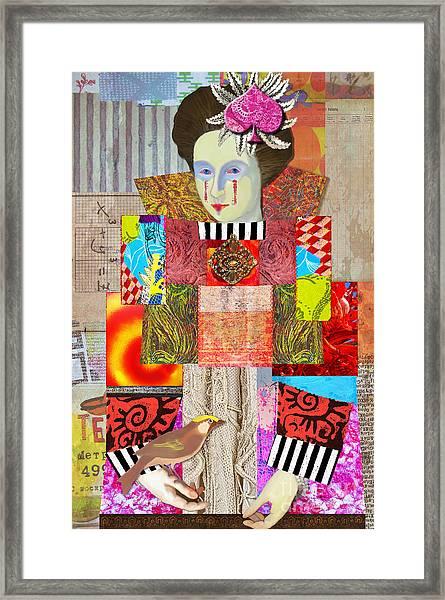 Queen Of Spades Custom Order Framed Print