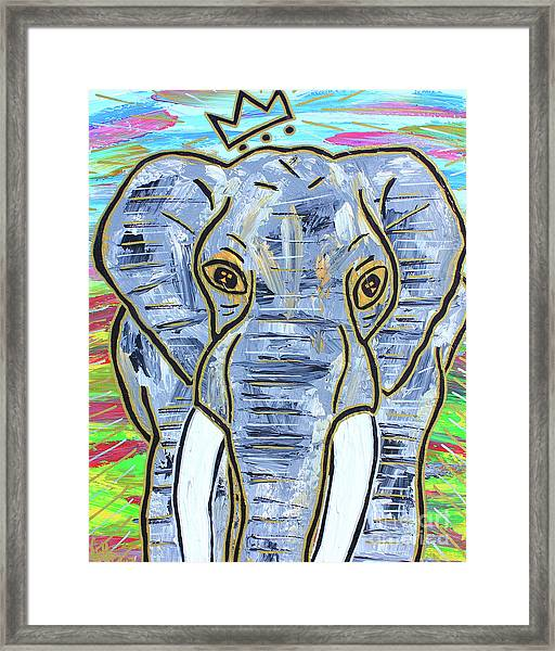 Queen Of The Jungle Framed Print