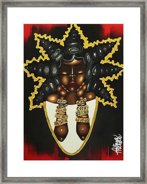 Queenisms Framed Print