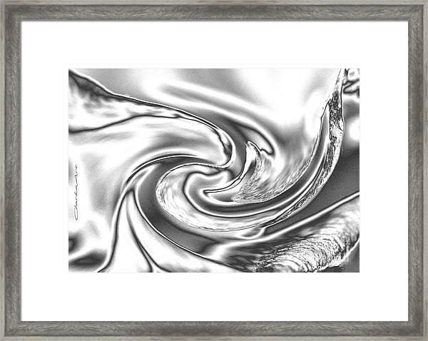 Quicksilver Eddy Framed Print