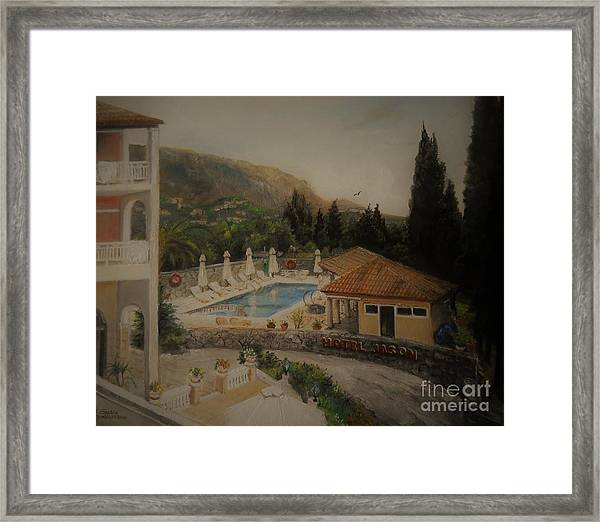 Quiet And Sunny Framed Print