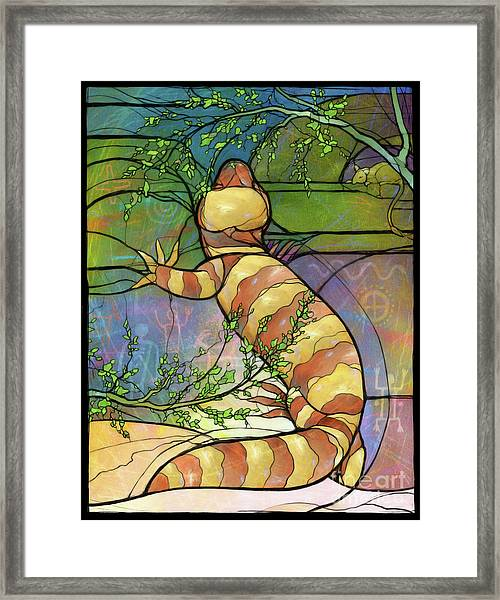 Quiet As A Mouse Framed Print