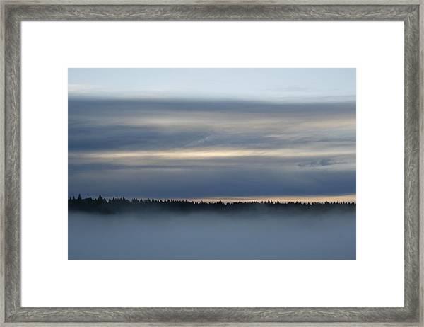 Quiet Before Dawn Framed Print