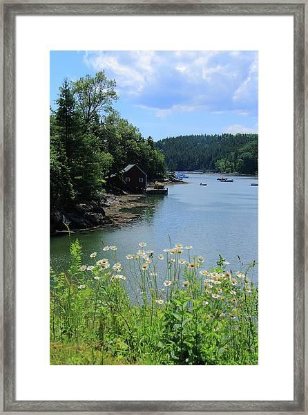 Quiet Cove 2 Framed Print