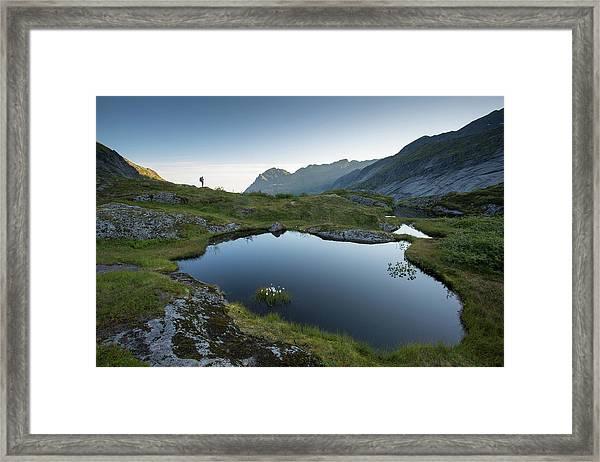 Quiet Lofoten Framed Print