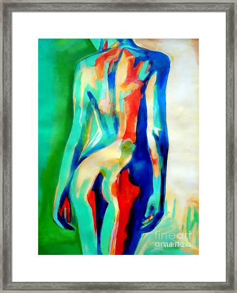 Quiet Nude Framed Print
