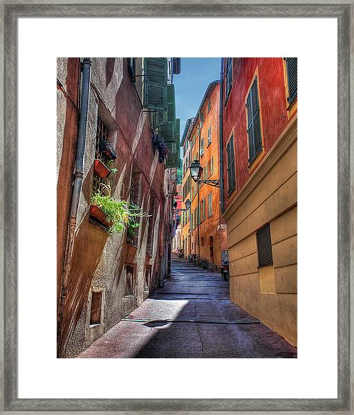 Quiet Sunday Framed Print