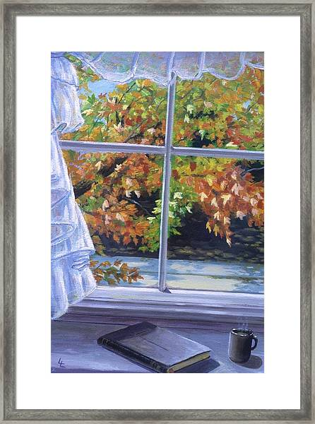 Quiet Time Framed Print