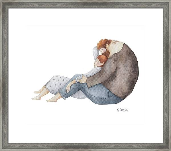 Quiet Time Framed Print by Soosh