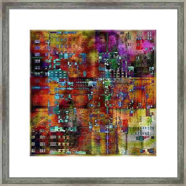 Quilt Framed Print
