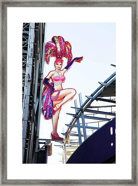 Quintessential Vegas Framed Print