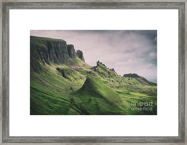 Quiraing Landscape 3 Framed Print
