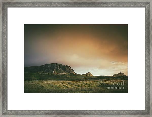 Quiraing Landscape 4 Framed Print