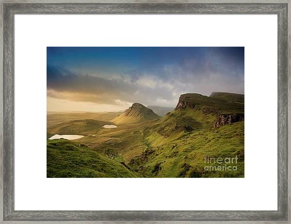 Quiraing Landscape 5 Framed Print
