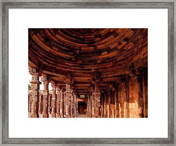 Qutub Minar Framed Print