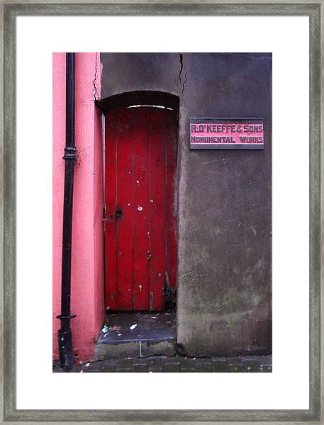 R. O. Keeffee And Sons Framed Print