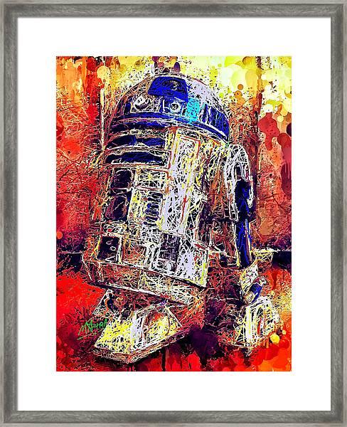 R2 - D2 Framed Print