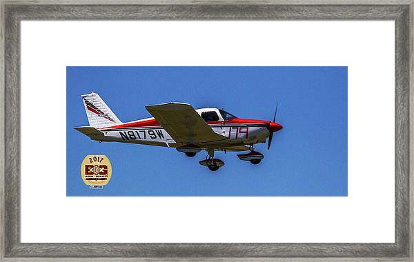 Race 179 Fly By Framed Print