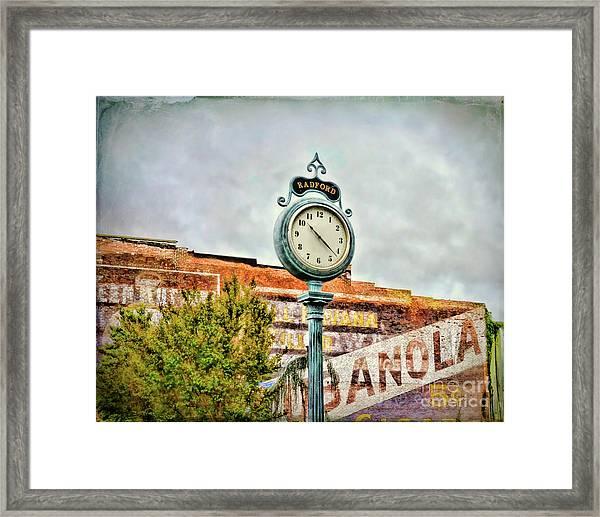 Radford Virginia - Time For A Visit Framed Print