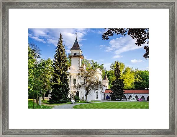 Radziejowice Castle Framed Print
